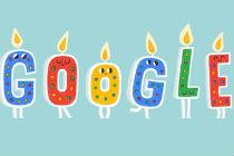 Aniversário do Google